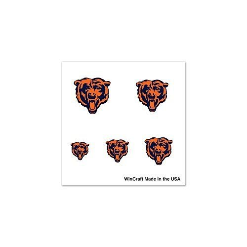 NFL Chicago Bears 17894012 Fingernail Tattoos