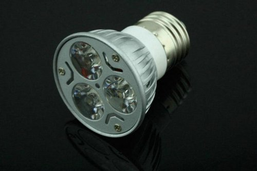 E27 3W 85-265V New Bulb 3 Led Lamp Warm White Spot Light Energy Saving