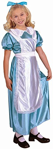 Kid's Alice in Wonderland Costume Dress (Size: Large 12-14)