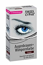 Swiss O Par Eyelash And Brow Dye Tint Color Kit Brown