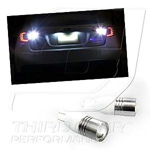 TGP T15 High Power Super White Cree Chip 5W Q5 Projector LED Reverse Backup Light Bulbs 2001-2013 Toyota Tacoma