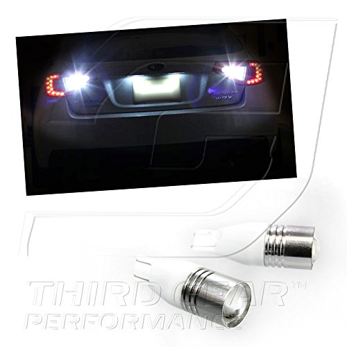 Tgp T15 High Power Super White Cree Chip 5W Q5 Projector Led Reverse Backup Light Bulbs 2013-2015 Subaru Brz
