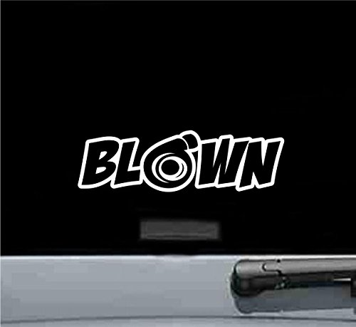 Blown Turbo Diesel Turbocharged Vinyl Decal Sticker (Turbocharged Decal compare prices)