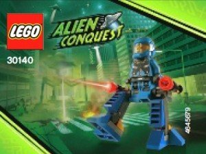 LEGO Alien Conquest: ADU Walker Set 30140 (Bagged)