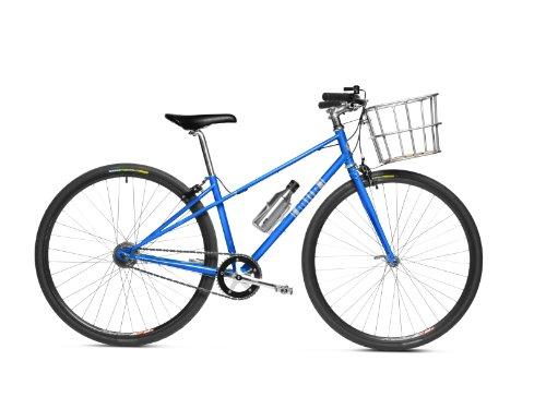 MIIR Women's Mixte High Five Comfort Bike, Azul, Medium