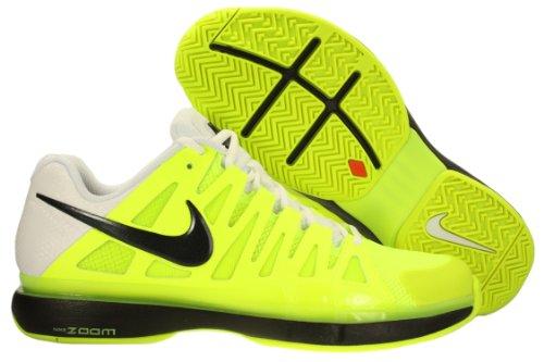 big sale a5d8a 053a2 1 Nike Mens NIKE ZOOM VAPOR 9 TOUR TENNIS SHOES 9.5 Men US  (VOLTBLACKWHITE)