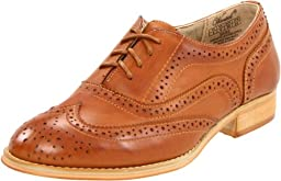 Wanted Shoes Women\'s Babe Oxford, Tan, 7.5 M US