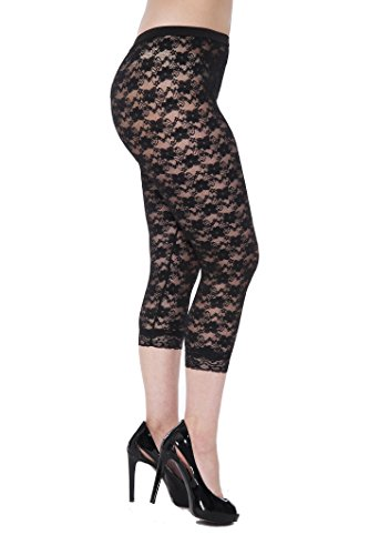 Unique Styles Lace Capri Leggings Tights - Assorted Styles