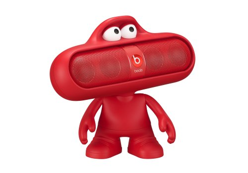 Beats Case for Pill Dude Series Speakers - Red,
