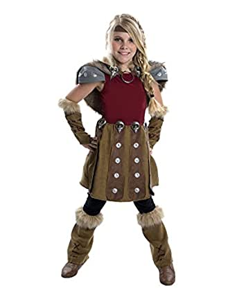 Amazon.com: How to Train Your Dragon 2 Astrid Deluxe Child Costume Large 12-14: Clothing