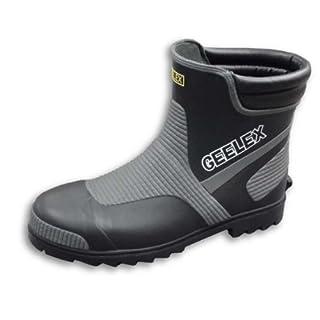 福山ゴム 安全靴 Gレックス 3 ブラック 3L