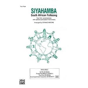 Siyahamba sheet music