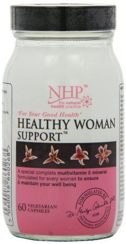 Natural Health Practice Healthy Woman Support Capsules - Tub of 60