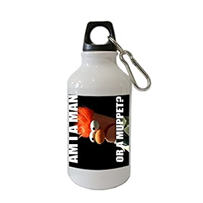 Funny Beaker Muppets Meme Custom Stainless Steel Sports Water Bottle with Loop Cap - CyberSome Best Gift
