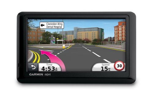 Garmin Nuvi 1440 Satellite Navigation System with 5 Inch Screen and European Maps