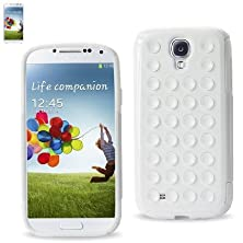 buy Reiko Suction Silicon E Hybrid Case Samsung Galaxy S4 - Retail Packaging - White