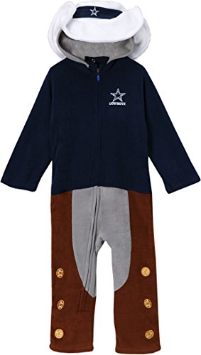 Dallas Cowboys Infant and Toddler Costume Creeper, 3-6 Months (Dallas Cowboys Costume For Boys)