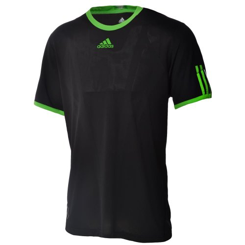 Adidas Mens Formotion Barricade Black Tennis T Shirt - Court Top Tee V37471