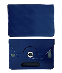 Fastway 8 Inch Rotate Tablet Book Cover For Lenovo A8 Tablet-Blue