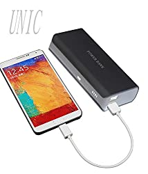 UNIC 15000mah Stylish Dual USB Powerbank/ Portable Mobile Charger UN15K1-Black