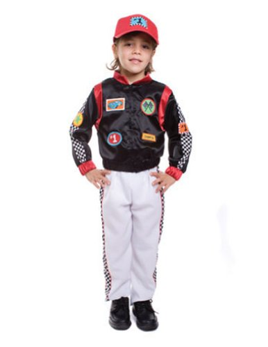 Race Car Driver Md Kids Boys Costume