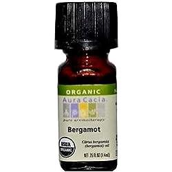 Aura Cacia Organic, Bergamot, 0.25 Fluid Ounce