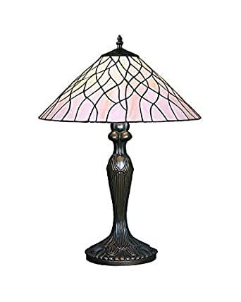 Lampsbuyer Large Size Tiffany Style Vine Table Lamp With