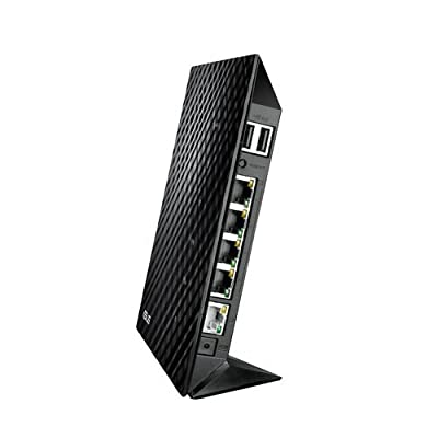 Asus N600 RT N56U Dual-Band Wireless Gigabit Router (Black)