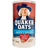 Quaker Oats Quick 1 Minute 180z 510g