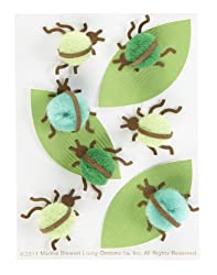 Martha Stewart Crafts Pom-Pom Bug Stickers
