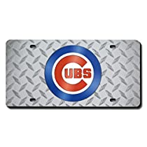 Rico Chicago Cubs Diamond Laser Tag - Chicago Cubs One Size