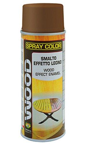 Eco Service Vernis spray pour le bois Transparent 400ml