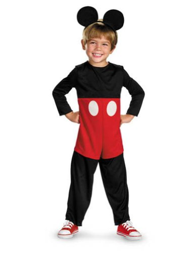 Mickey Mouse Basic Toddler Costume 3T-4T - Toddler Halloween Costume