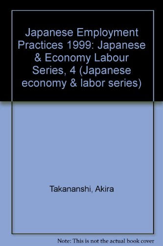 The Unchanging Face of Japanese Employment
