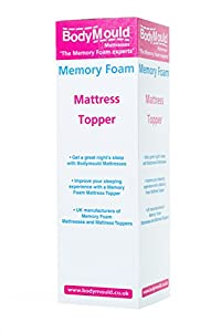"Bodymould 3"" standard mattress topper"