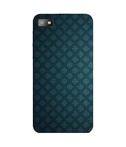 Blue Damask BlackBerry Z10 Case