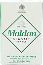 Maldon Sea Salt Flakes 85 ounce Boxes New Value Size Package of 6