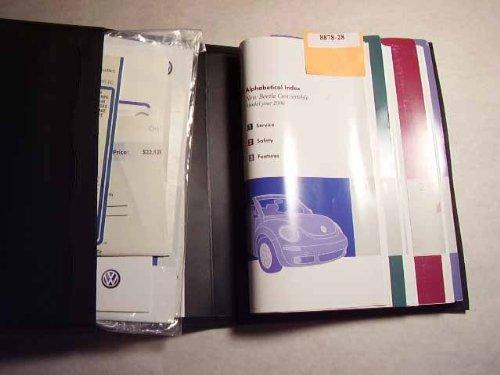 2006 Volkswagen New Beetle Convertible Owners Manual (2006 Vw New Beetle Owners Manual compare prices)