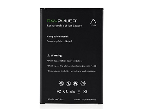 RAVPower-RC-B800BE-3200mAh-Battery-(For-Samsung-Galaxy-Note-3)