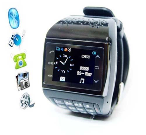 Avatar Dual Card Dual Standby 1.3 inch mobile phone wrist watch (bluetooth Black Friday & Cyber Monday 2014