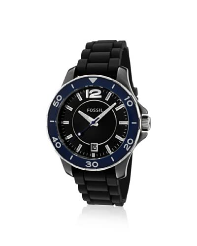 Fossil Women's FSCE1036 Casual Black Dial Watch