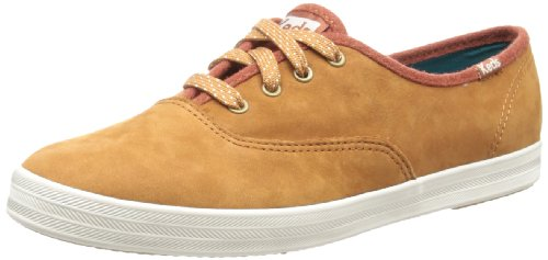 Keds Womens Champion Hazed Camel Lace-Up Flats WH48115 8 UK, 42 EU, 10.5 US