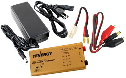 Combo: 5A Balance Charger for 7.4V Li-Po Battery Packs + 5A Power Supply