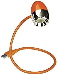 USB LED Light Lamp Color Black Orange