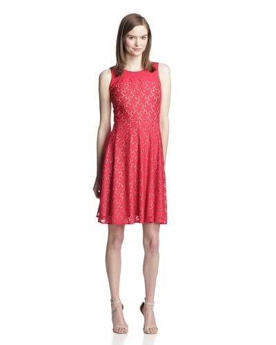 Muse Women's Lace Fit-and-Flare Dress