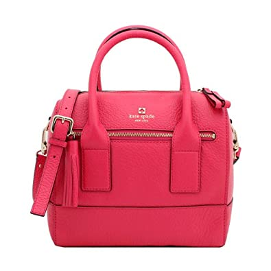 Kate Spade Southport Avenue Alessa Ringwald Pink Leather Crossbody Bag, One Size