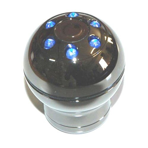 Manual Shift Knob Black Chrome 1370 Interior Lighting Green Leds Light Up Shift Knob