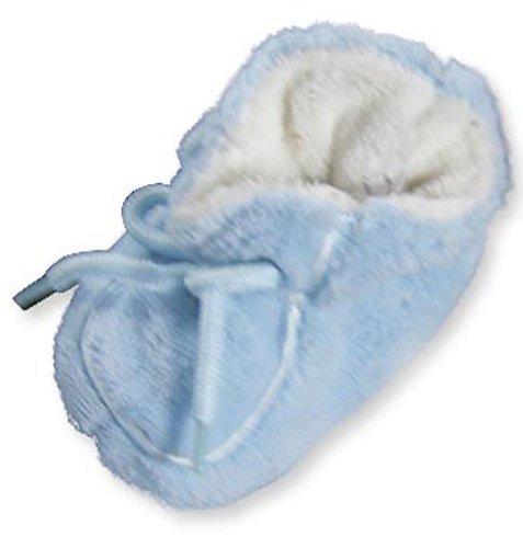 Private Label – Infant and Toddler Boys Bootie Slipper, Light Blue 20336-Medium