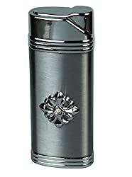 Designer Butane Jet Flame Metal Cigarette Lighter In Glossy Finish-LIT318
