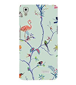 printtech Jungle Wild Design Back Case Cover for Oppo R7